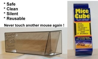 Mice Cube - Reusable Humane Mouse Traps (4 pack)