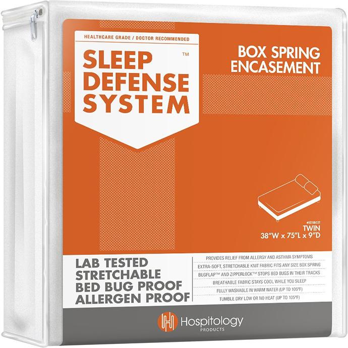 sleep defense system box spring encasement